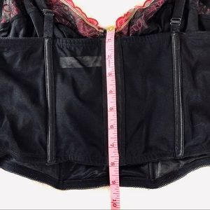 Cacique Intimates & Sleepwear - Cacique black long line bustier bra size 40